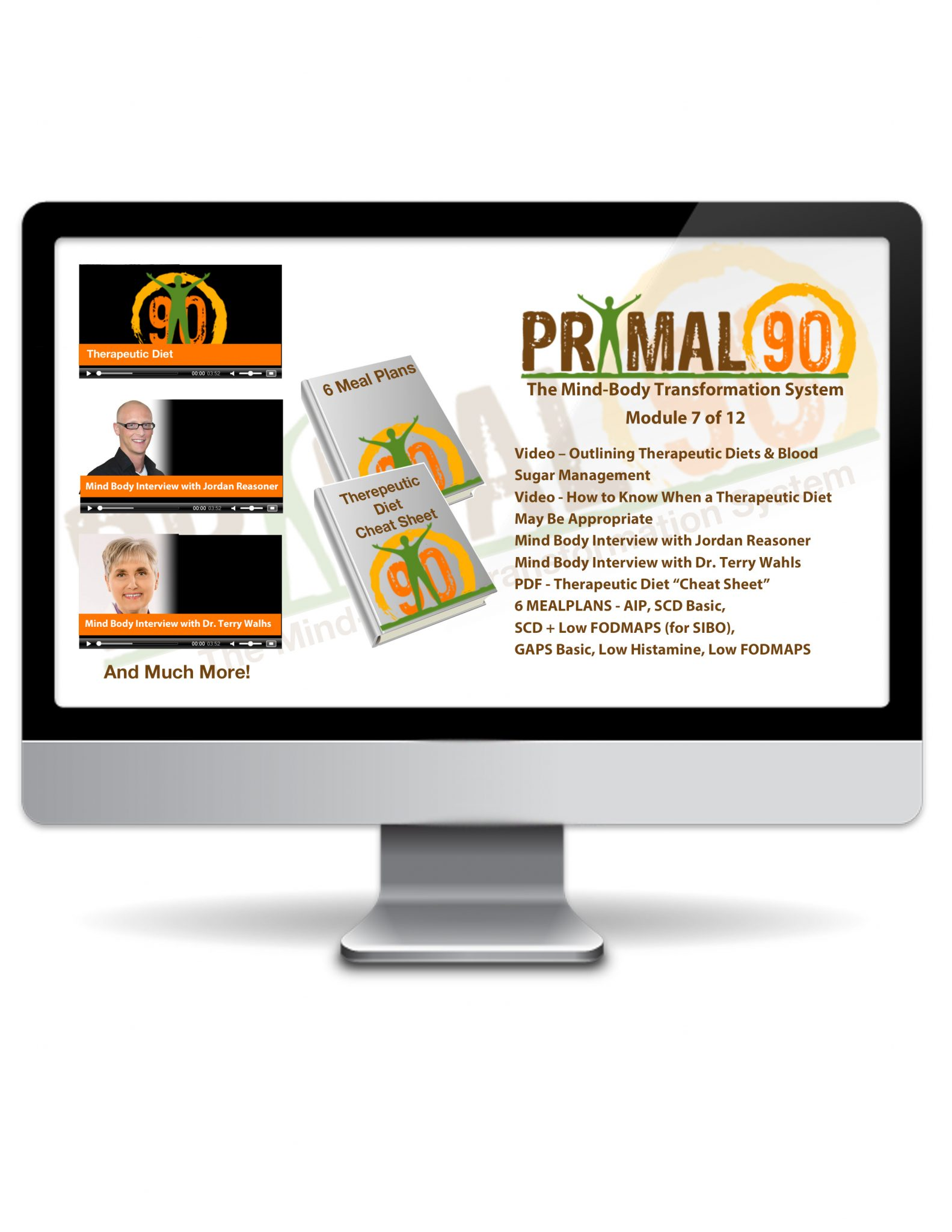 Primal 90 Product Graphic - Graphic Design