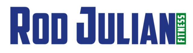 Rod Julian Fitness Logo - Graphic Design