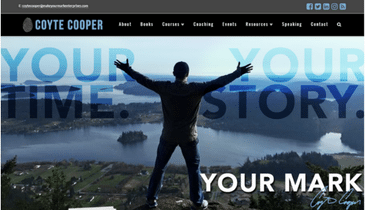 Coyte Cooper website