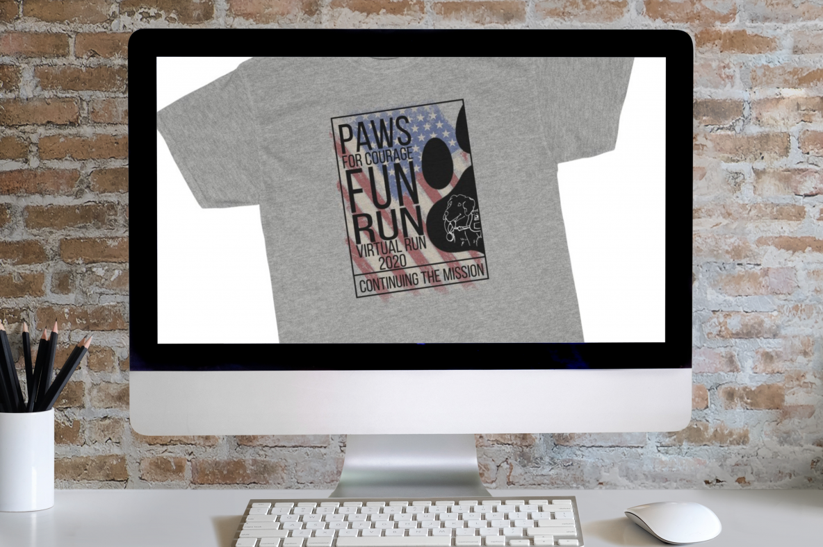 Paws for Courage TShirt